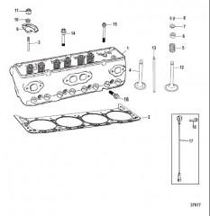 Схема Cylinder Head Assembly