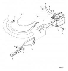 Система охлаждения топлива – Bravo (С/н 1A343748 и ниже)
