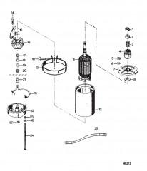 Схема Электрический стартер