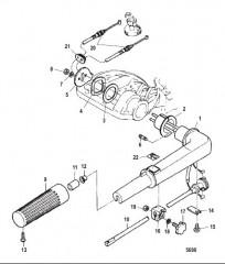 Схема Рукоятка рулевого механизма