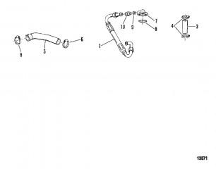 Схема Маслопроводы (6-ЦИЛ.)