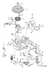 Схема Flywheel/Ignition Coil