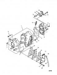 Блок цилиндров и головка цилиндра