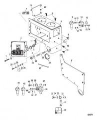 Схема Электрические компоненты (Монтажная коробка)