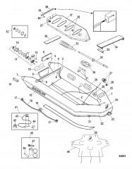 Схема Модели Air Deck Deluxe (Белый и серый)