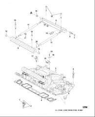 Схема Intake Manifold and Fuel Rails