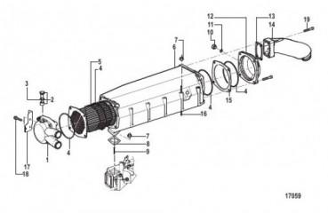 Схема Вторичный охладитель