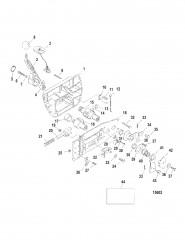 Схема Дистанционное управление (серия 40) (802755)