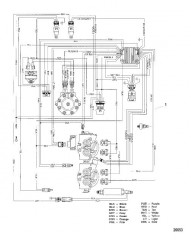 Жгут проводов в сборе (Сер. номер 0M052847 и ниже)