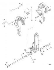 Комплект усилителя дифферента, газовое усиление (828533A2)