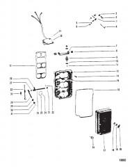 Пластина обогатителя и тяга газа (Конструкция I)