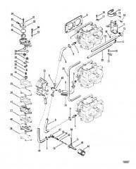 Топливный насос (Конструкция I, без проходного фильтра)