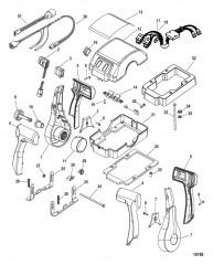 Дистанционное управление – 4500 GEN II (сдвоенн.) (Консоль) (883711A01- A04)