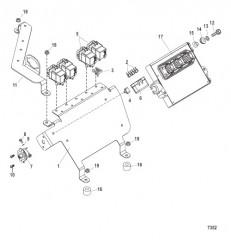 Схема PCM и кронштейн