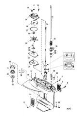 Gear Housing Assembly (Driveshaft)