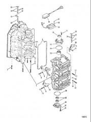Блок цилиндров и колпачки