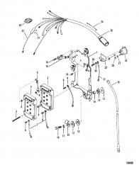 Схема Электропроводка/электромагнит стартера
