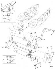Схема Компоненты системы охлаждения