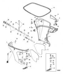 Схема Нижний кожух