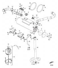 Схема Fresh Water Cooling Heat Exchanger