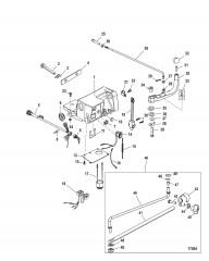 Схема Компоненты комплекта рукоятки рулевого механизма