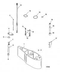 Схема Комплект удлинителя Корпус ведущего вала (12092A10/ A11/ A13/ A14)