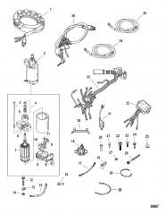 Комплект преобразования электрического пуска (822462A 2)