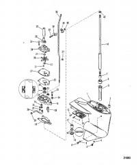 Схема Карт. редуктора (Ведущий вал)(конструкция II – см. поз. №41)
