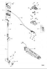 Схема Двигатель для тралового лова в сборе Ножное управление, регулируемая скорость