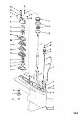 Схема Картер редуктора Ведущий вал – передаточное число 178:1, диам. 4.25