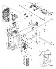 Компоненты распределительной коробки