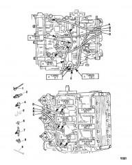 Схема Система рециркуляции топлива