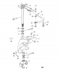 Схема Шарнирный кронштейн