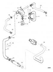 Схема STANDARD COOLING SYSTEM