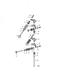 Схема Intake and Exhaust Valves