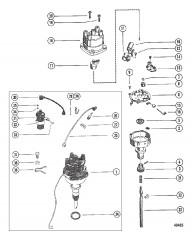 Схема Распределитель и катушка
