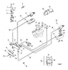 Закрытая система охлаждения (18390A12 / A13)