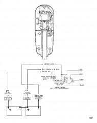 Схема электрических подключений (Модель 567) (24 В)