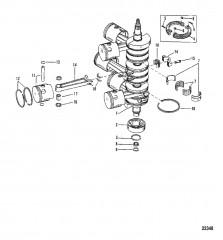 КОЛЕНЧАТЫЙ ВАЛ (Номер штамповки соединительного стержня – 636-8118)