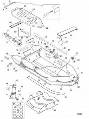 Модели Air Deck (Белый/Lodestar, светло-серый – 2008)