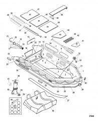 Схема Модель Mecury Heavy Duty 430 (С деревянным настилом)