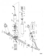 Схема Компоненты усилителя дифферента