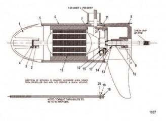 Схема Нижний блок в сборе (67# – с регулировкой скорости до 5) (M899700T)