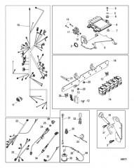 Электрические компоненты Цифровое управление газом и реверсом
