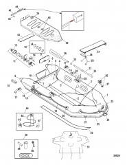 Модели Mercury Air Deck Белый (2009/2010)