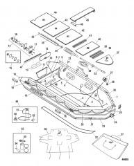 Схема Модель Sport XS 365 / 415 (Светло-серый – алюминиевый настил)