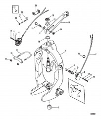GIMBAL RING AND STEERING LEVER