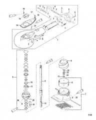 Схема Водометный насос в сборе