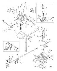 Комплект карбюратора (TKS)