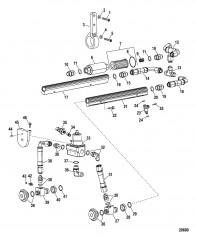 Компоненты топливопровода (Конструкция I)